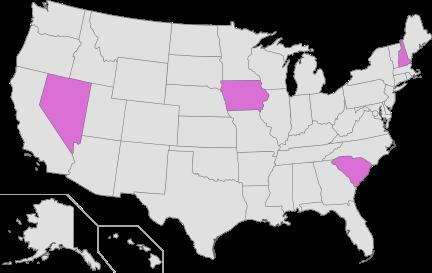 US primaries 2016 - phase 1