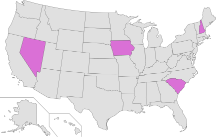 US primaries 2016 - phase 1