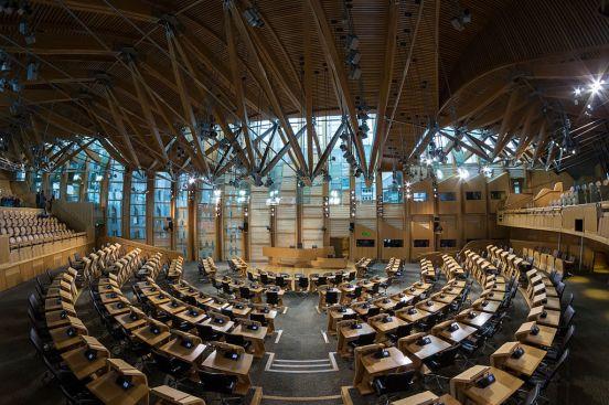 image - Holyrood chamber