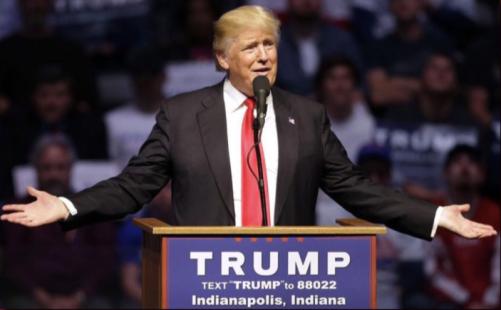 image - Trump in Indiana