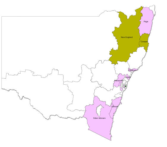 marginals - NSW