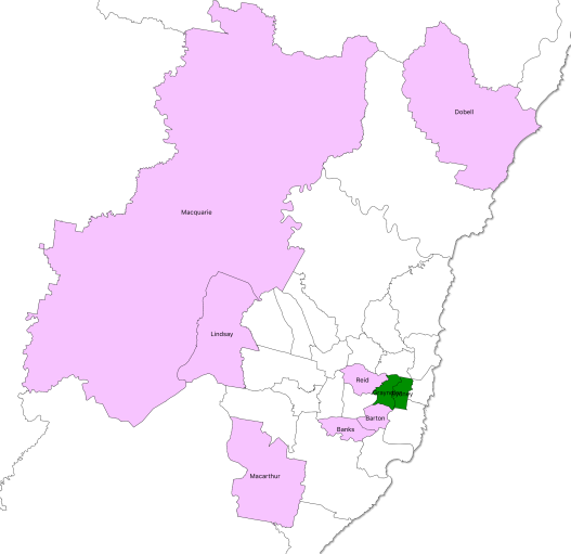 marginals - Sydney