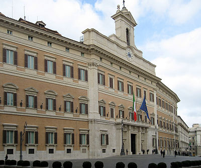 image - Palazzo Montecitorio - Italian Chamber of Deputies.jpg