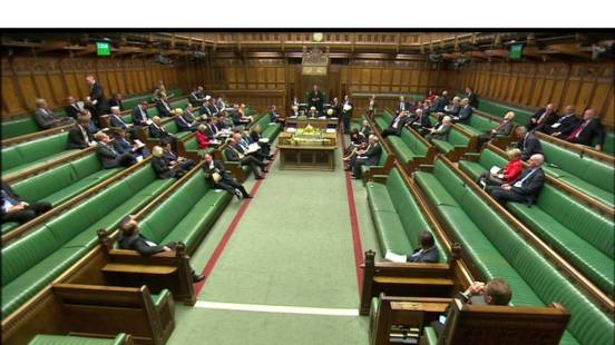 image - House of Commons not full