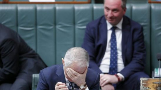 image - Turnbull and Joyce in the House