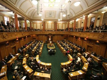 image - New Zealand House chamber