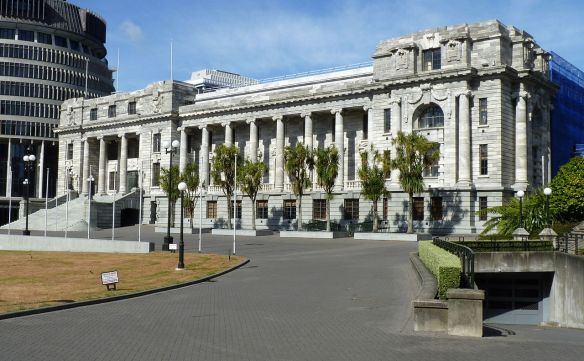 image - New Zealand Parliament building