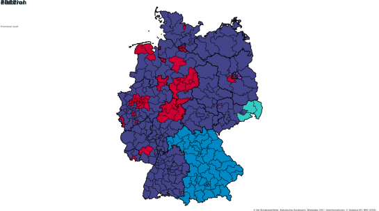 map_Germany - 2017 election local divisions