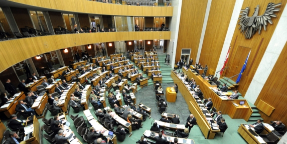 image - Austrian Nationalrat chamber