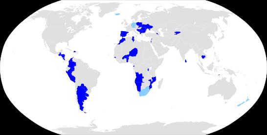 voting map - SA closed list