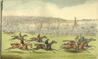 image - horse racing