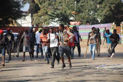 image - protestes in Zimbabwe