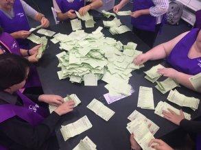 AEC election ballot counting